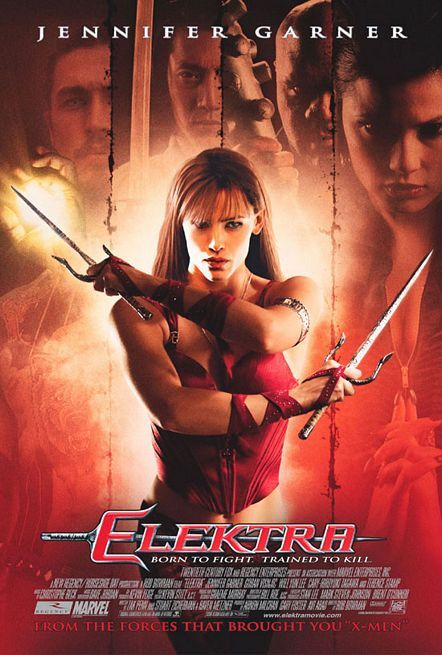 Elektra (2005) BRRip 420p 300MB Dual Audio