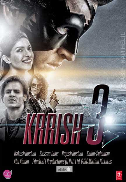 Krrish 3 (2013) Hindi Movie 400MB DVDScr 576P