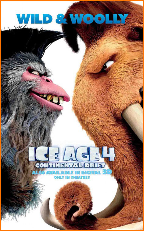 Ice Age 4: Continental Drift (2012) English BRRip 720p