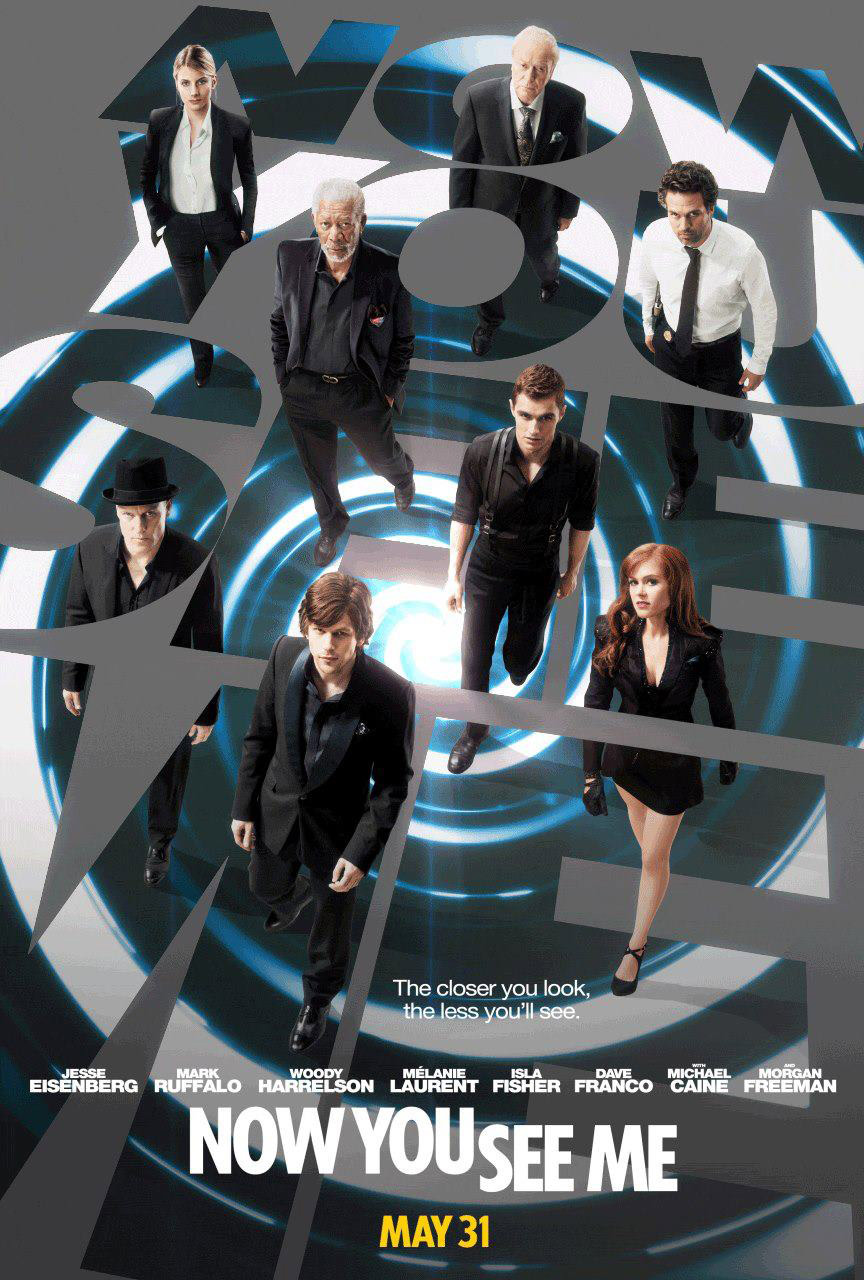 Now You See Me (2013) English BRRip 720p HD