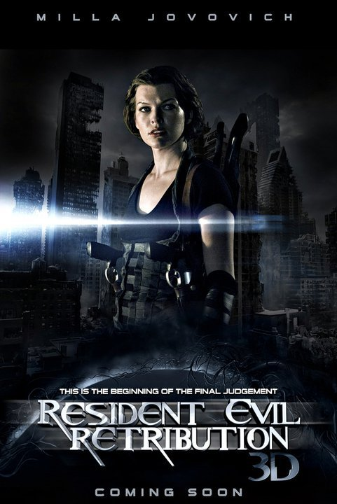 Resident Evil 5: Retribution (2012) English Movie