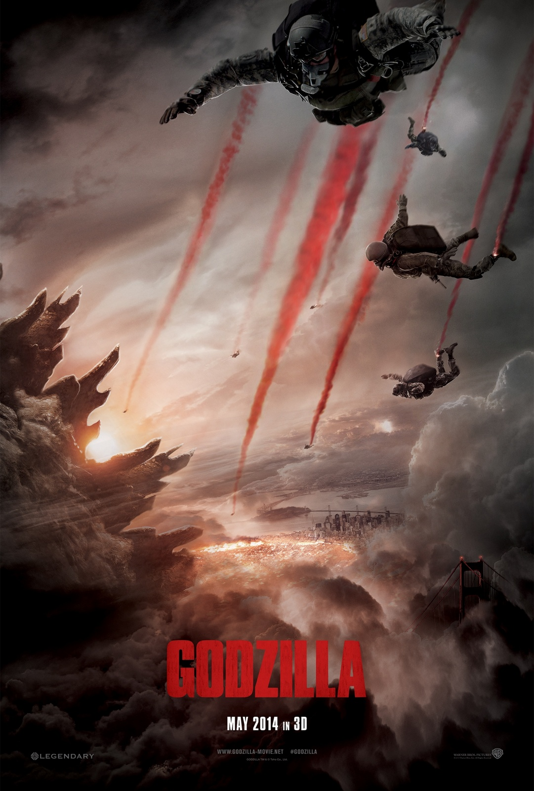 Godzilla 2014 Watch Full Movie Online For Free In Full HD 1080p