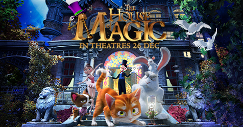 The House of Magic (2013) English Movie Watch Online In Full HD 1080p
