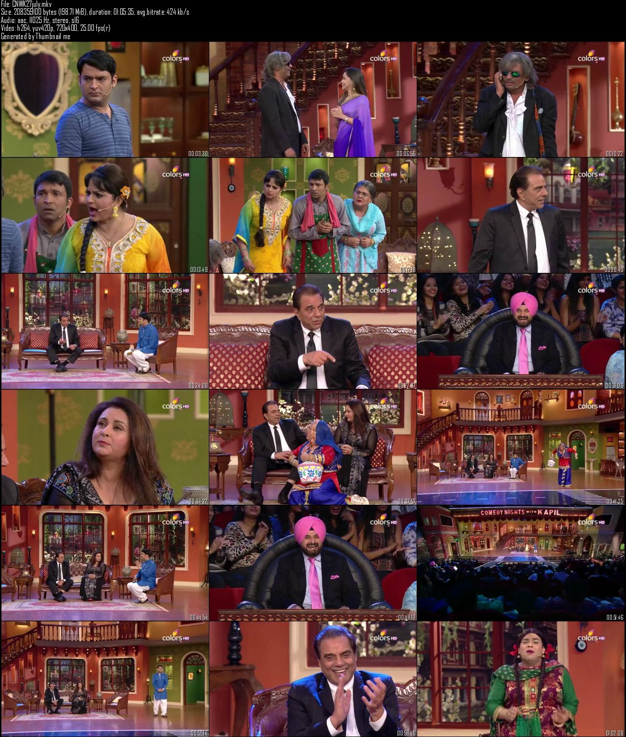 Comedy Nights With Kapil 27th July (2014)