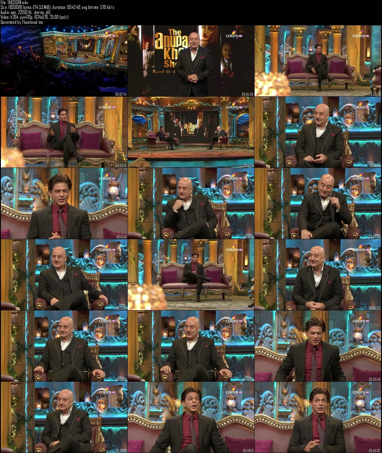 The Anupam Kher Show 6th July (2014)