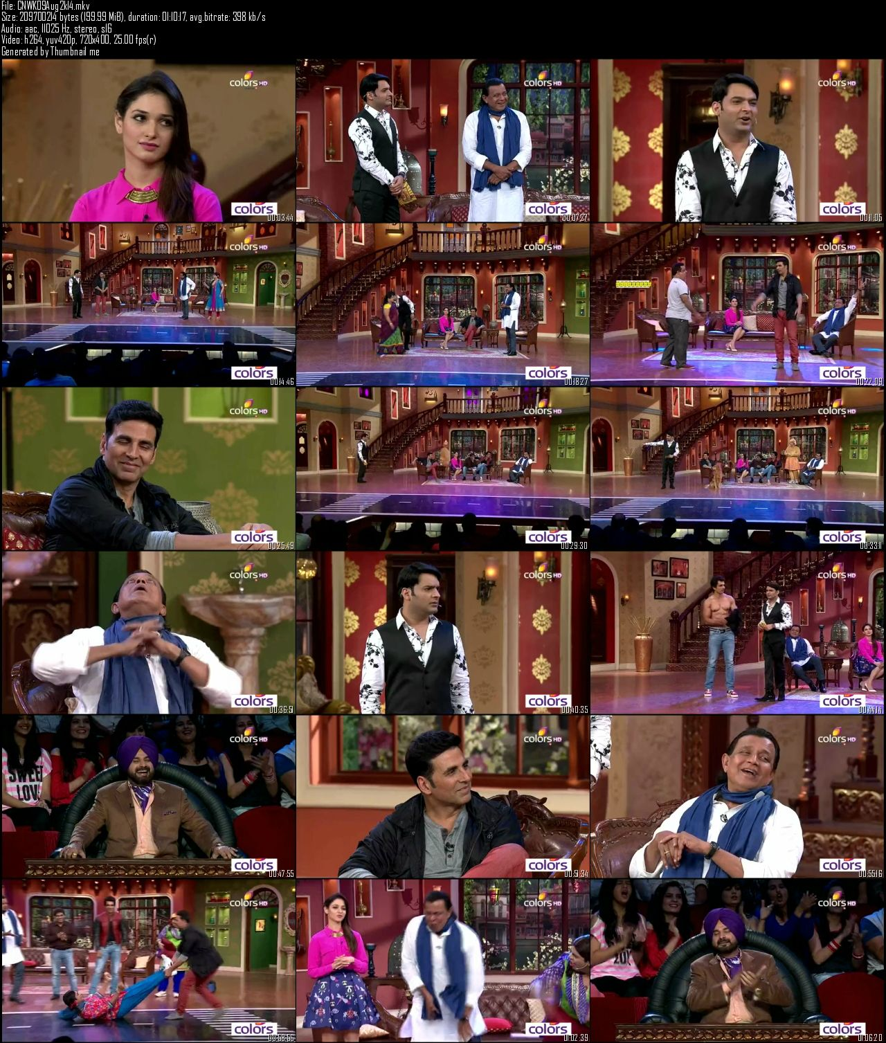 Comedy Nights With Kapil 9th August (2014)