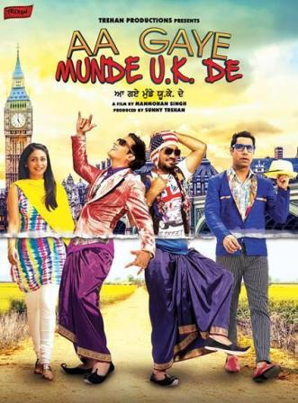 Aa Gaye Munde U.K. De (2014) Punjabi Movie 720p 200MB Download