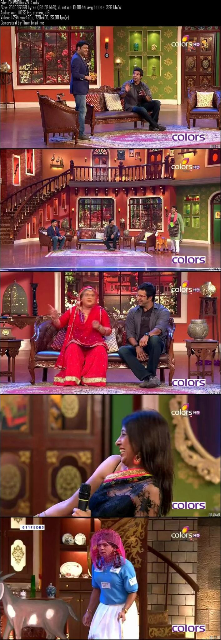 Comedy Nights With Kapil 1st November (2014)