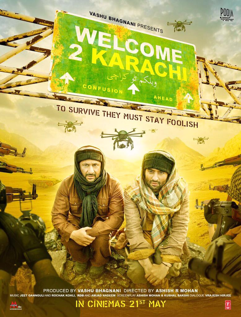 Welcome 2 Karachi (2015) Hindi 400MB 480p