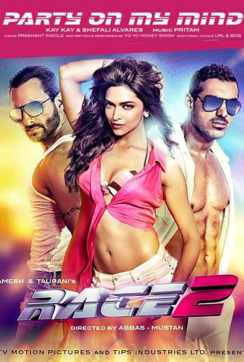 Race 2 (2013) Hindi Movie 480P 400MB BRRip