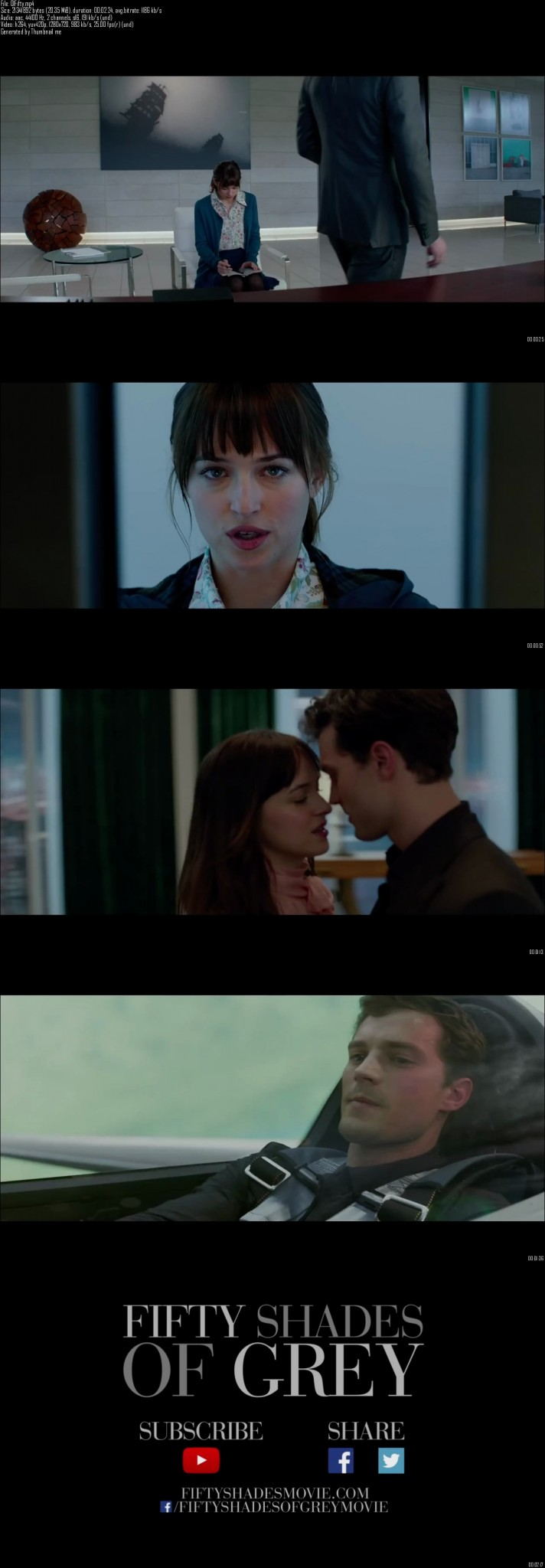 Fifty Shades of Grey Movie Trailer Free Download HD