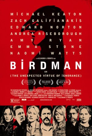 Birdman (2014) 200MB Free Download English HD 480p