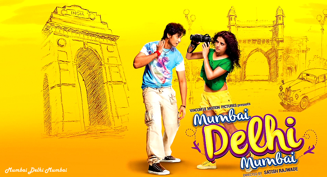Mumbai Delhi Mumbai (2014) Hindi Movie 300Mb Download 480p