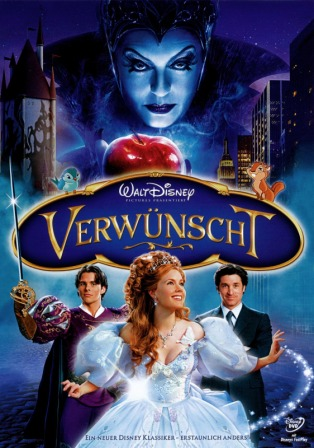 Enchanted (2007) 250MB BRRip 480P English