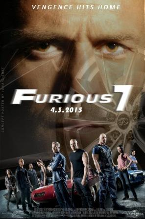 Furious 7 (2015) 375MB 480P Dual Audio