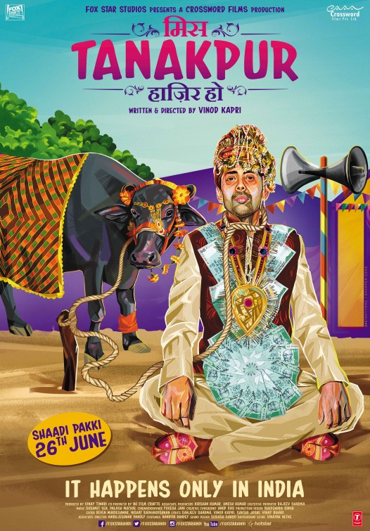 Miss Tanakpur Hazir Ho (2015) Hindi Movie DVDRip 720P