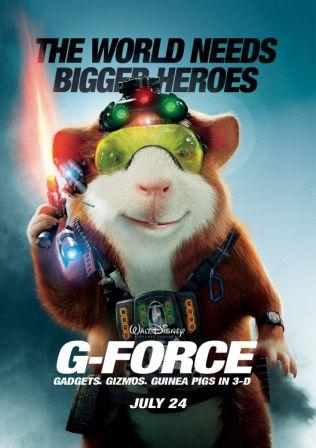 G-Force 2009 Hindi Dubbed English Dual Audio 720p
