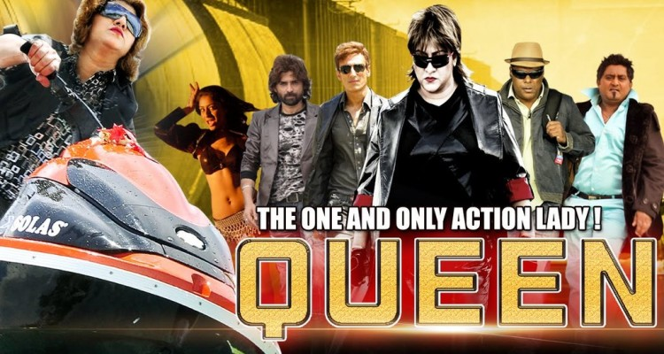 Queen (2015) Hindi Dubbed DVDRip 400MB