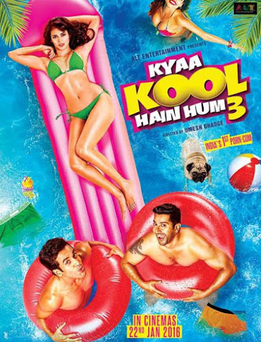 Kyaa Kool Hain Hum 3 (2016) Full Movie Watch Online DVD 350MB