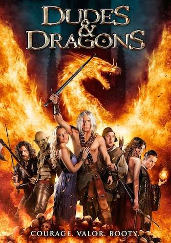 Dudes and Dragons 2016 English 350mb