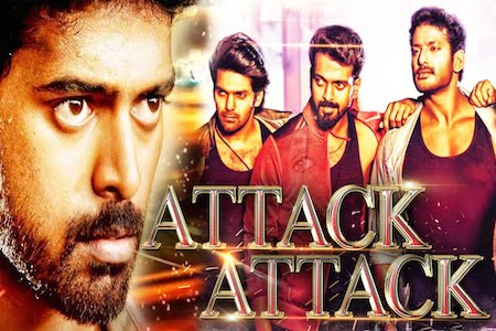 Attack Attack 2016 Hindi Dubbed DVDRIp 250MB