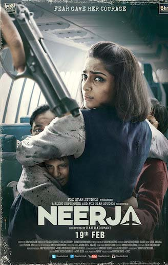 Neerja 2016 Hindi Movie Download 200MB HDRip 480p