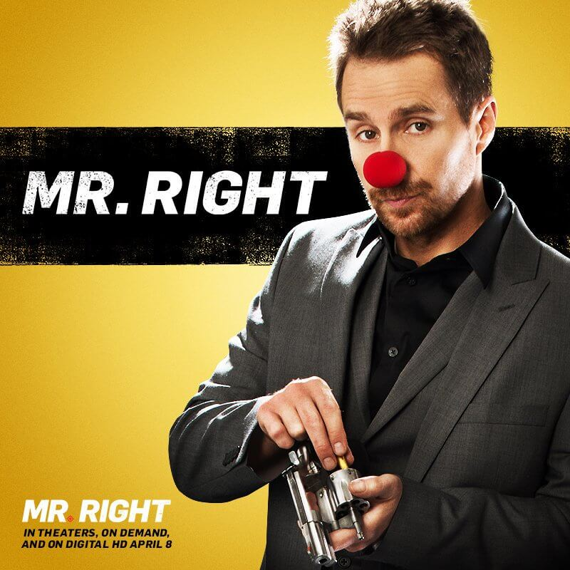 Mr Right (2015) English HDRip 720p