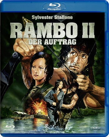 Rambo First Blood II (1985) Hindi Dubbed BRRip 200MB