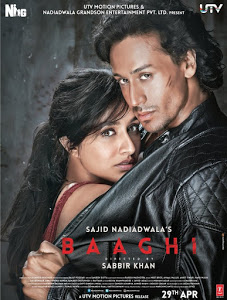 Baaghi (2016) Hindi Movie DVDRip 720p