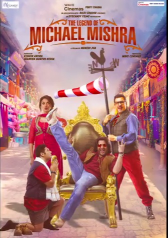 The Legend of Michael Mishra (2016) 480p DVDRip 100mb HEVC Mobile