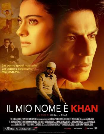 My Name Is Khan 2010 Hindi 720p BRRip 600MB HEVC