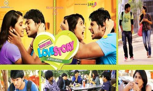 Routine Love Story 2016 Hindi Dubbed 720p HDRip 450MB