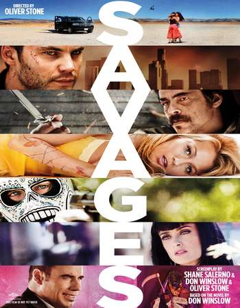 Savages 2012 Dual Audio 450MB BRRip 720p