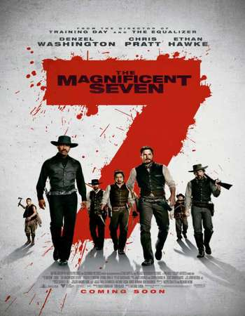 The Magnificent Seven 2016 Dual Audio DVDRIP 720p