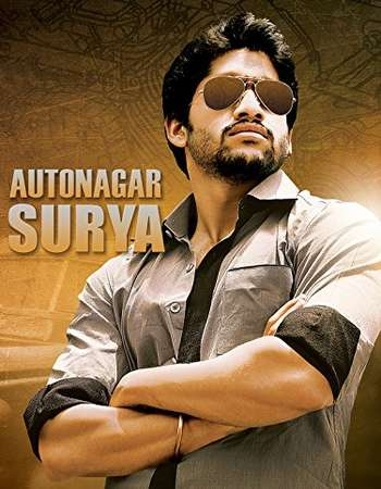 Autonagar Surya 2014 Hindi Dubbed HDRIP 750MB