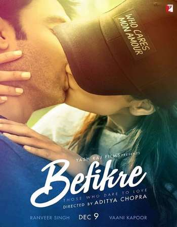 Befikre 2016 Hindi Official Trailer 720p