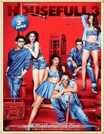Housefull 3 2016 Hindi Movie 720p BRRip 650MB