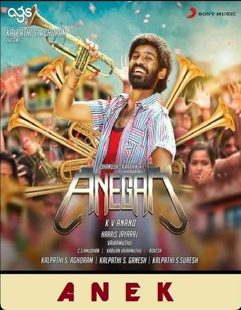 Anegan 2015 Hindi Dual Audio 600MB HDRip 720p HEVC