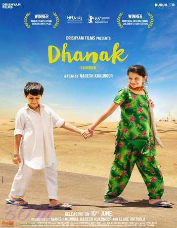 Dhanak 2016 Hindi 300MB DVDRip 480p