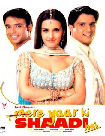 Mere Yaar Ki Shaadi Hai 2002 Hindi 600MB BRRip 720p HEVC