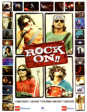 Rock On!! 2008 Hindi Movie 720p Bluray 550MB HEVC