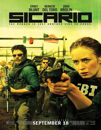 Sicario 2015 English 300MB BRRip 480p