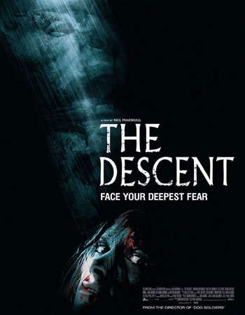 The Descent 2005 English 300MB BRRip 720p ESubs HEVC