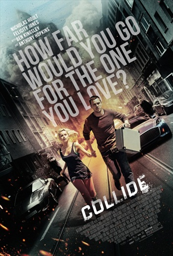 Collide 2016 English Movie 300MB BRRip 480p