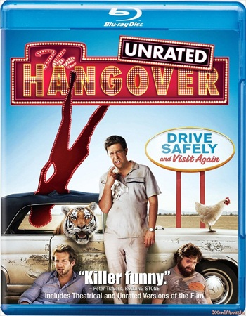 The Hangover 2009 UNRATED Dual Audio 720p BRRip 700mb