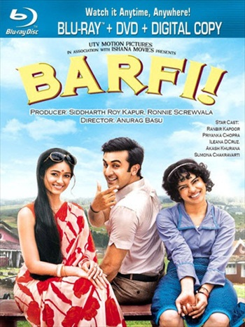 Barfi 2012 Hindi Movie 480p BluRay 500mb