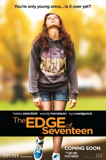 Edge of Seventeen 2016 English Movie DVDScr 600MB