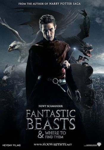 Fantastic Beasts And Where To Find Them 2016 Hindi Dual Audio HDRip 720p