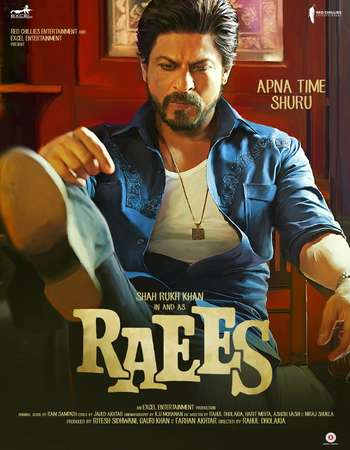 Raees 2017 Hindi Movie DVDScr 750MB