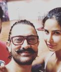 Aamir Khan, Katrina Kaif rehearse with Prabhudeva for Thugs of Hindustan Dance number
